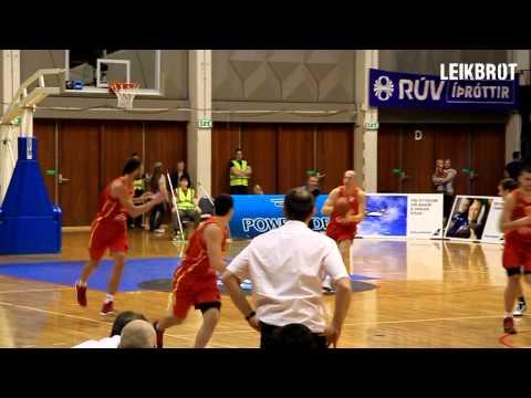 Haukur Helgi Pálsson - Monsterblock against Montenegro