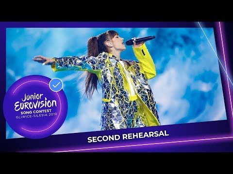 Poland 🇵🇱 - Viki Gabor - Superhero - Second Rehearsal - Junior Eurovision 2019