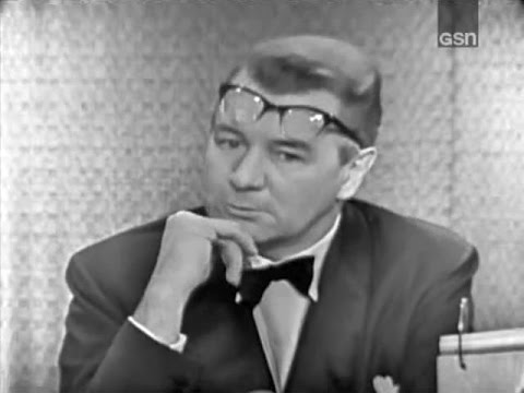 What's My Line? - Charles H. Goren; Michael Redgrave; Johnny Carson [panel] (Dec 10, 1961) [UPGRADE]