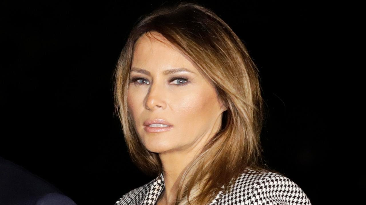 Melania Trump Hospitalized After Kidney Surgery