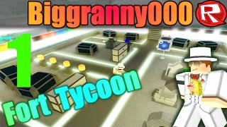 [ROBLOX: Fort Tycoon] - Lets Play Ep 1 - Lets Be Cavemen!
