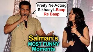 Salman Khan BULLIES Preity Zinta, Epic Reply On Wedding | MOST FUNNY Wittiest Moments In Public