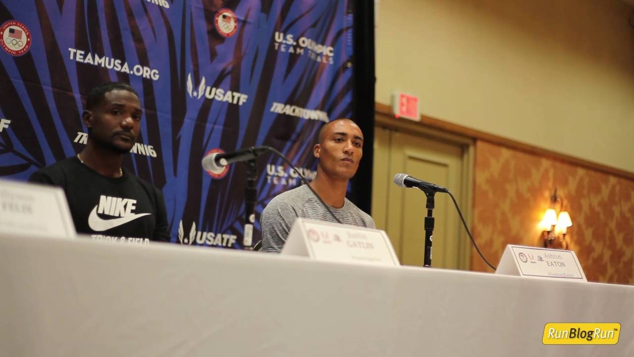 Ashton Eaton @ 2016 Olympic Trials Press Conference