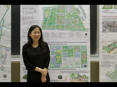 """Urban Space Transformation"" by Samantha Hung, UCLA Extension Landscape Architecture Thesis"