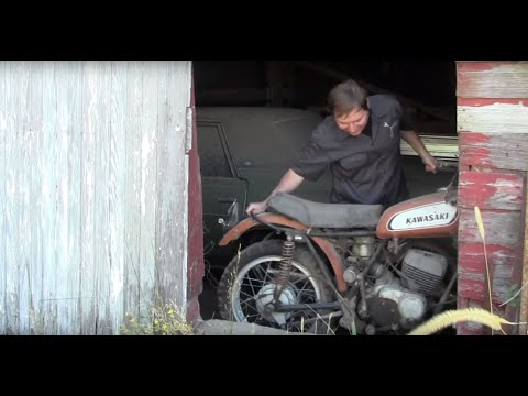 Motorcycle Restoration, Finding your project - Barn Fresh EP1