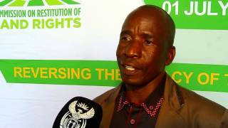 Deputy Minister Mcebisi Skwatsha hands over title deeds in Tshwane
