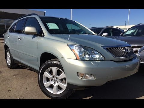 Pre Owned Gold 2009 Lexus Rx 350 4wd Premium Package Review Calgary Alberta