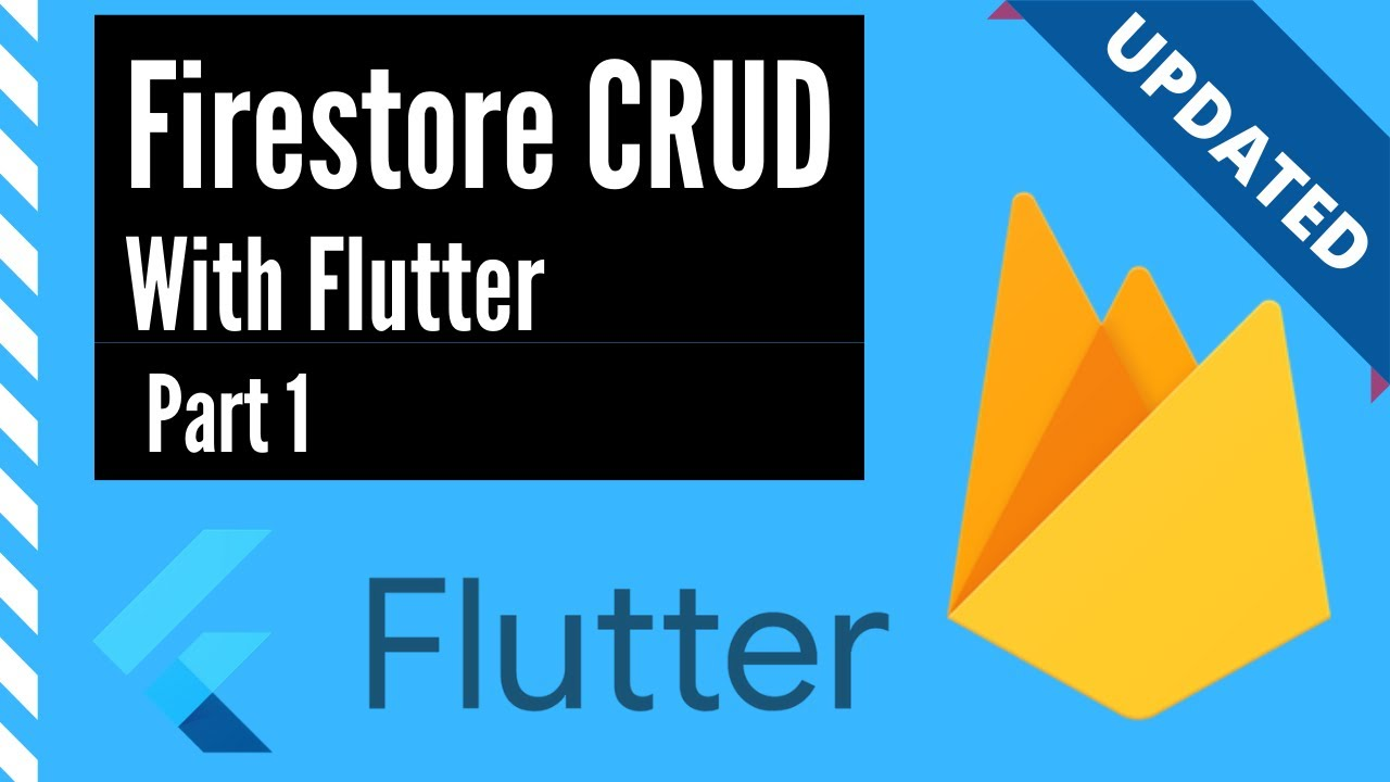 Firestore CRUD with Flutter, Part 1