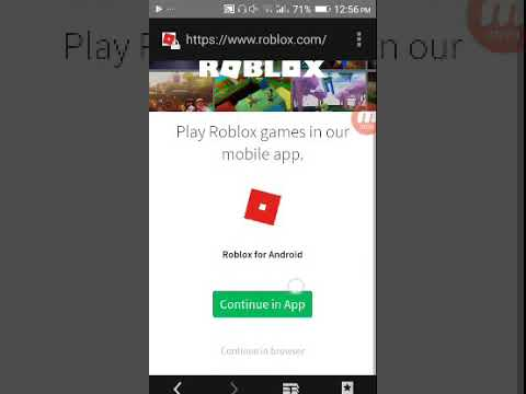 Android How To Login With Facebook In Roblox Youtube