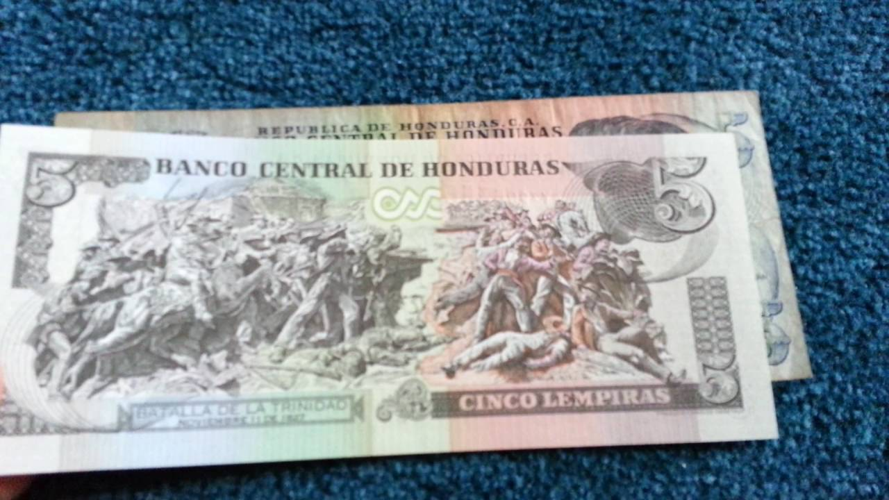 Currency Special Part 8 Honduras Lempira