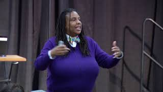 Show up - Let people know their role in systematic oppression  | Torie Weiston-Serdon