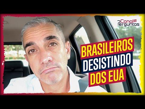 Brasileiros que desistiram