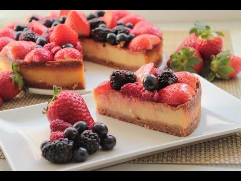 Tarta de queso mascarpone y frutas del bosque (sin lactosa) / Mascarpone Cheesecake