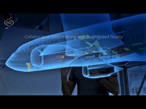 Collaborative MRO training with Augmented Reality