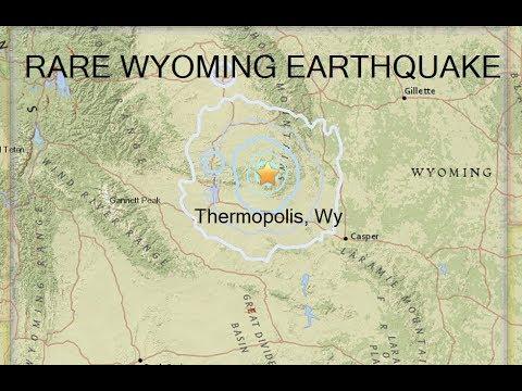 SEISMIC ALERT - RARE Thermopolis, Wyoming Quake - Samoa Quake Swarm - Long Valley Caldera