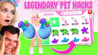 How To Get LEGENDARY PETS EVERY TIME In Adopt Me! (Roblox)