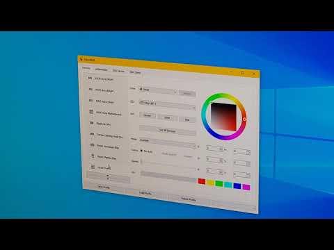 OpenRGB 0.3 - Setup and Demo on Windows