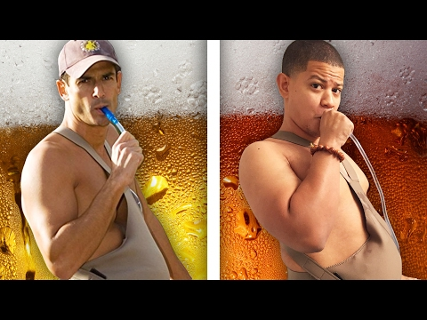 "People Drink Beer From ""The Beer Belly"""