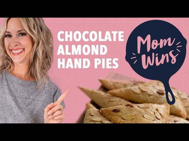Chocolate Almond Hand Pies with Bev Weidner | Mom Wins