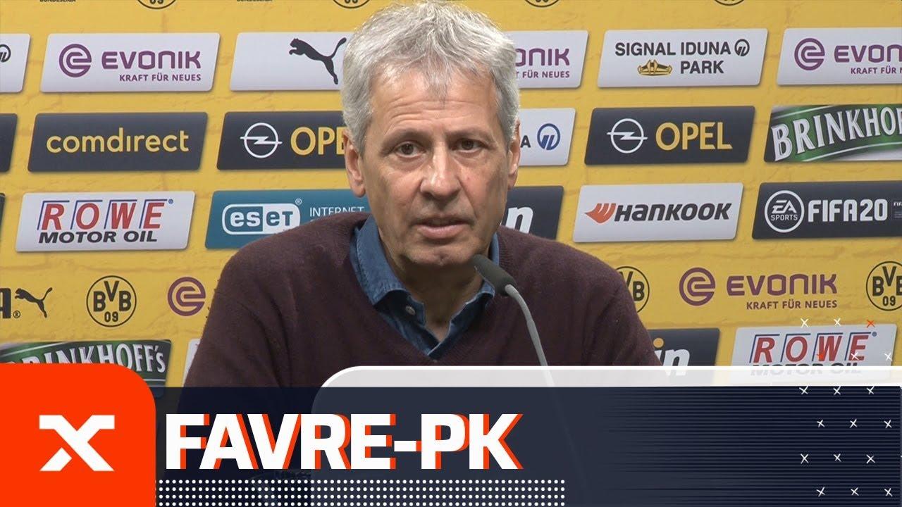 Lucien Favre über Erling Haaland: Wir sind an mehreren Spielern interessiert | Borussia Dortmund