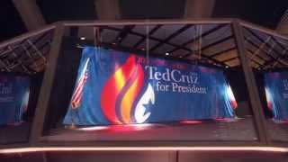 TED CRUZ Religious Liberty Rally with the NEWSBOYS