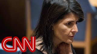 Nikki Haley slams 'disgusting' Trump affair rumors