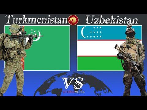 UZBEKISTAN vs TURKMENISTAN military power comparison 2020