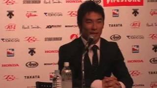 2010年2月18日、佐藤琢磨インディ参戦発表会見、完全版5/5です。