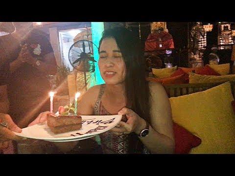 Her Birthday in Bali