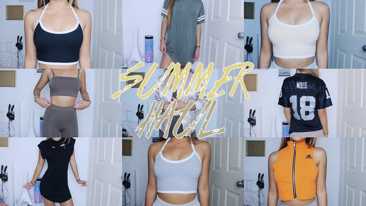 d01cd946613 TRY-ON Summer Clothing Haul Pt. 2 ♡
