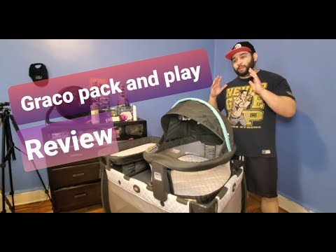 Review Graco Pack 'n Play Travel Dome DLX Playard | Includes Portable Bassinet