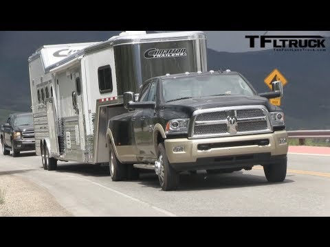 2017 Ram 3500 Heavy Duty Pickup Takes On The Ike Gauntlet Towing Test Episode 2