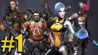 4Cast - Borderlands 2 - Part 1 - Epic Beginnings (PS3/X360/PC) [HD]