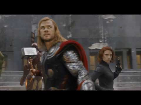 The Avengers Theme  Music Video
