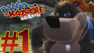 Banjo Kazooie Nuts & Bolts Gameplay Walkthrough Part 1 ( Xbox One X Enhanced / 4K)
