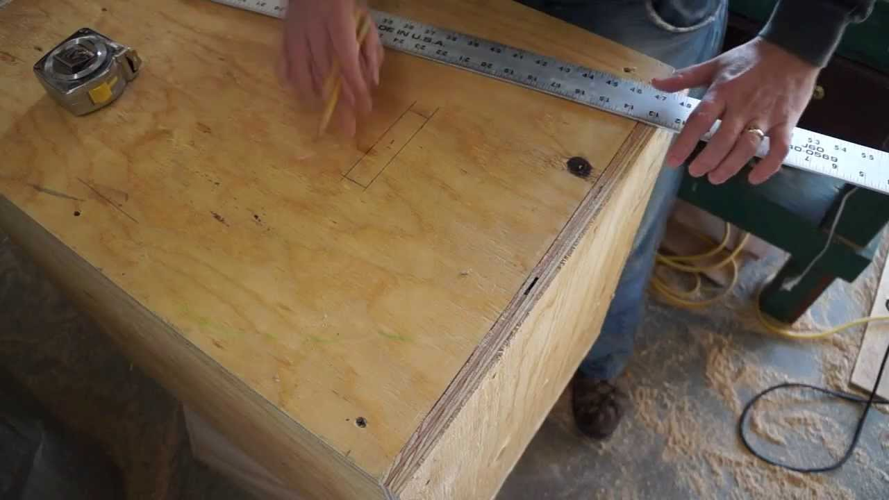 How To Build A Three Sided Crossfit Plyo Jump Box Youtube