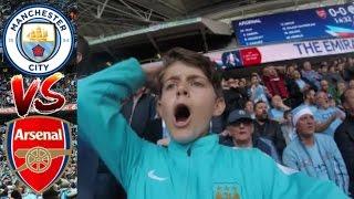 MAN CITY VS ARSENAL   FA CUP SEMI FINAL VLOG   VLOG #29