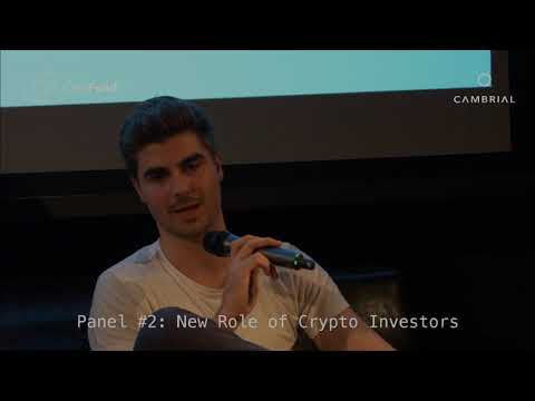 New Role of Crypto Investors | Panel #2| Generalized Mining and The Third-Party Economy