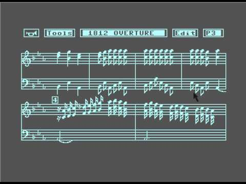 1812 Overture Music Shop Commodore 64