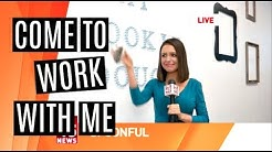 COME TO WORK WITH ME! | TV News Producer Life