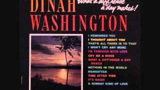 Watch Dinah Washington I Remember You video