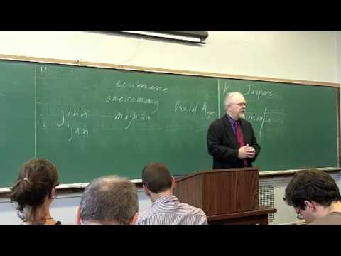Richard Bulliet - History of the World to 1500 CE (Session 6) - The Mediterranean and Middle East