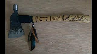 forging indian tomahawk