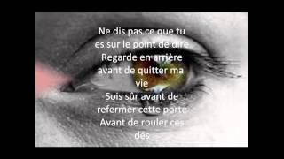 THINK TWICE CELINE DION TRADUCTION
