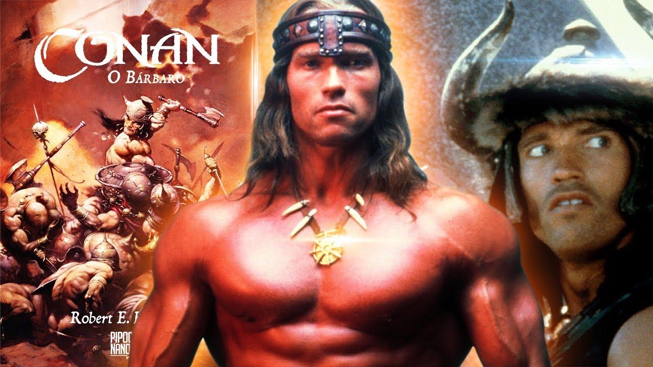 Evento De Lancamento De Conan No Cinema Livro Filme Classico