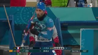 JO 2018 : Biathlon - Individuel : Martin Fourcade est dans un très grand jour !