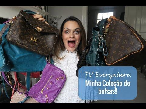 Minha coleção de bolsas! Gucci, Balenciaga, Celine, Louis Vuitton
