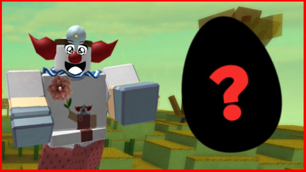 G0Z finds his very first Roblox Egg!