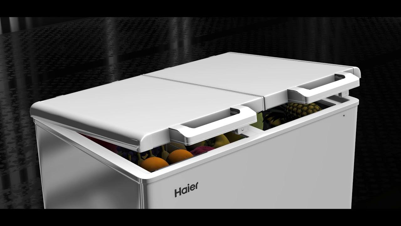 Haier Deep Freezer Major Usp Youtube