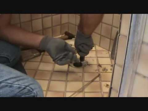 "Cleaning out a shower ""drain"" - YouTube"